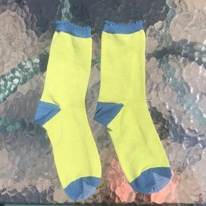 Green and Blue Boot Socks!